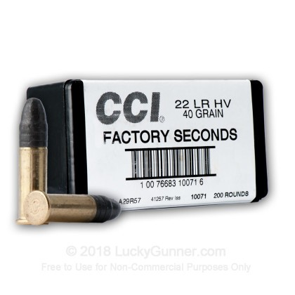 Image 7 of CCI .22 Long Rifle (LR) Ammo