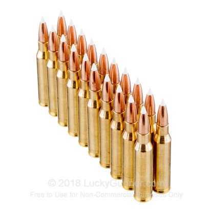 Image 4 of Nosler Ammunition 7mm-08 Remington Ammo