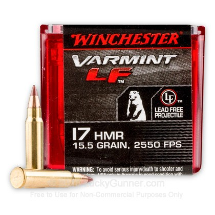 Image 2 of Winchester .17 HMR Ammo