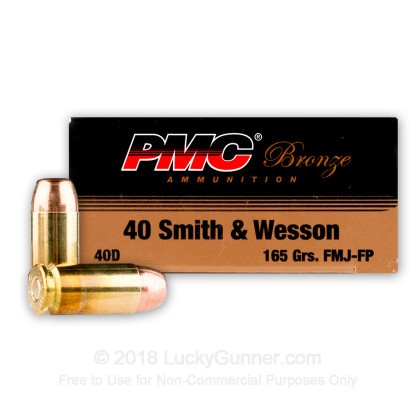 Image 3 of PMC .40 S&W (Smith & Wesson) Ammo