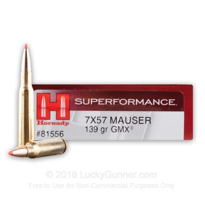 Image 1 of Hornady 7x57 Mauser Ammo