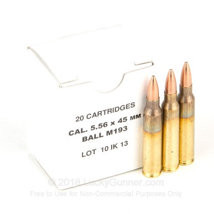 Image 1 of Bosnian Surplus 5.56x45mm Ammo