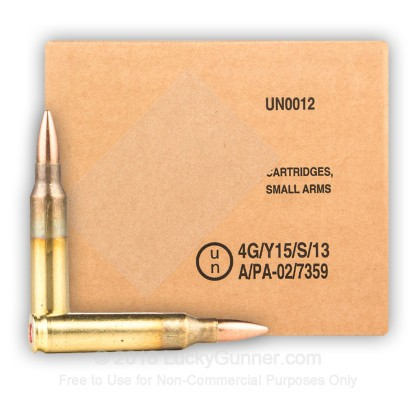 Image 2 of Bosnian Surplus 5.56x45mm Ammo