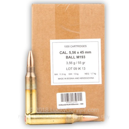 Image 3 of Bosnian Surplus 5.56x45mm Ammo