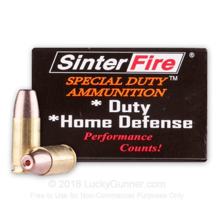 Image 1 of SinterFire 9mm Luger (9x19) Ammo