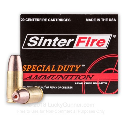 Image 2 of SinterFire 9mm Luger (9x19) Ammo