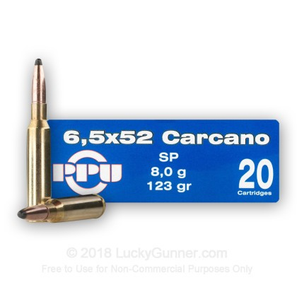 Image 2 of Prvi Partizan 6.5x52 Carcano Ammo