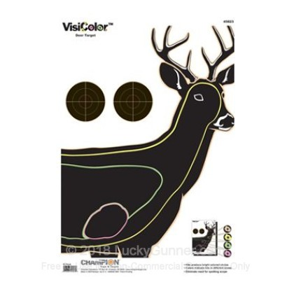 Large image of Champion VisiColor Deer Targets For Sale - Reactive Indicator Targets In Stock