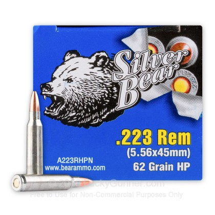 Image 2 of Silver Bear .223 Remington Ammo