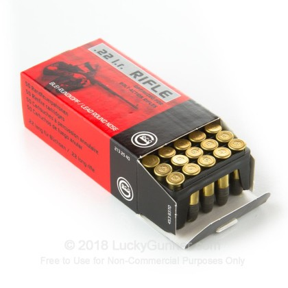 Image 2 of GECO .22 Long Rifle (LR) Ammo