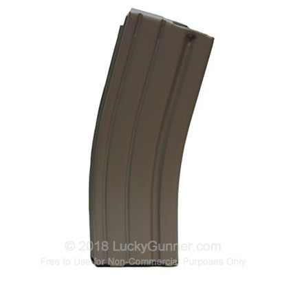 Large image of Cheap 30 Round AR-15 Magazines For Sale - 30 Round 5.56x45mm Tan AR-15 Magazine by D&H Tactical in Stock