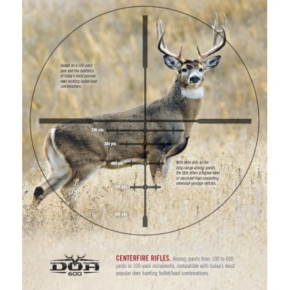 Large image of Rifle Scope For Sale - 3-9x - 40mm 733960B - DOA 600 Deer Hunting - Black Matte Bushnell Optics Rifle Scopes in Stock