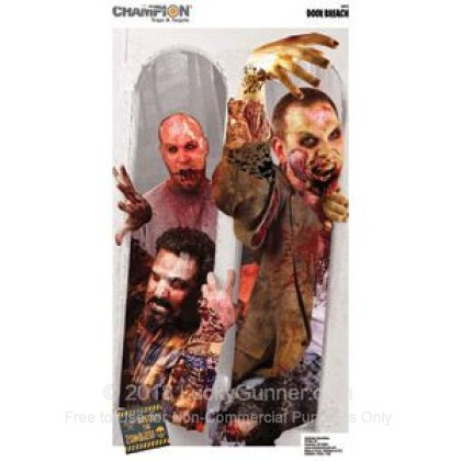 Large image of Champion Zombie Door Breach Targets For Sale - Zombie Targets In Stock
