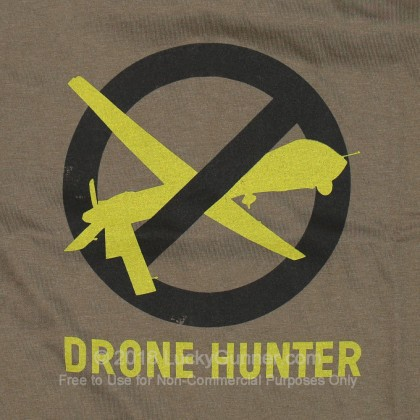Large image of Lucky Gunner T-Shirt - Drone Hunter