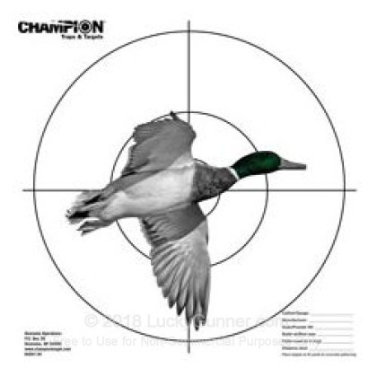 Large image of Champion Targets For Sale - Shotgun Patterning Duck Targets - 3 Pack