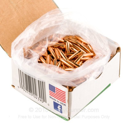Large image of Bulk 223 Rem (.224) Bullets for Sale - 80 Grain HPBT Bullets in Stock by Sierra - 500