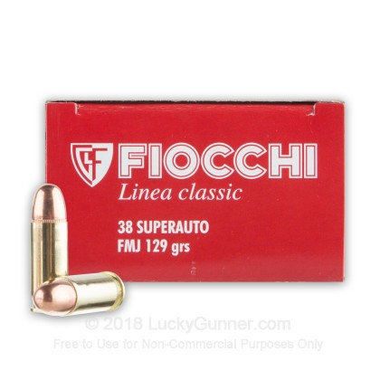 Image 1 of Fiocchi .38 Super Ammo