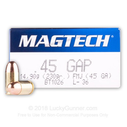 Image 1 of Magtech .45 GAP Ammo