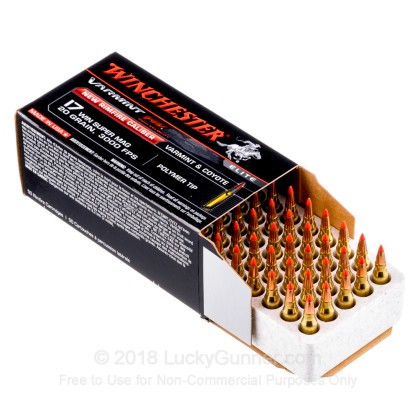 Image 3 of Winchester .17 Win Super Mag (WSM) Ammo