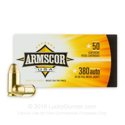 Image 1 of Armscor .380 Auto (ACP) Ammo