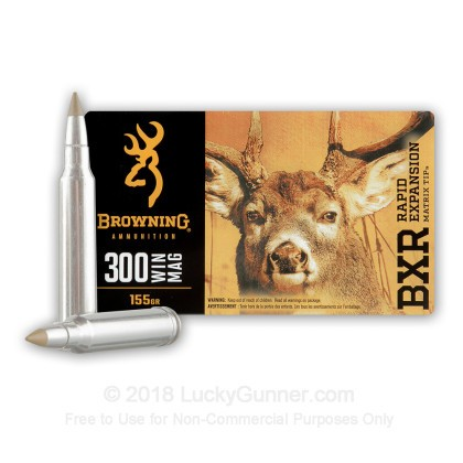 Image 2 of Browning .300 Winchester Magnum Ammo