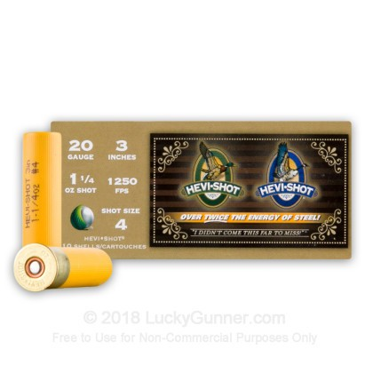 Image 1 of Hevi-Shot 20 Gauge Ammo