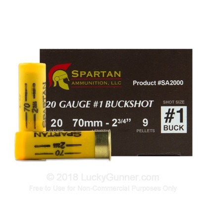 Image 3 of Spartan 20 Gauge Ammo