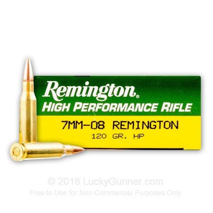 Image 1 of Remington 7mm-08 Remington Ammo