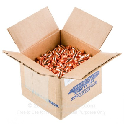 Large image of Berry's 9mm Plated Bullets For Sale - 9mm 124 gr RNDS