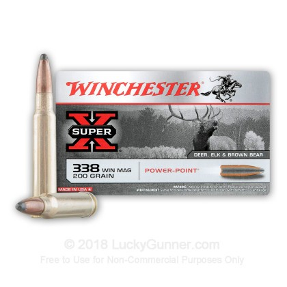 Image 2 of Winchester .338 Winchester Magnum Ammo