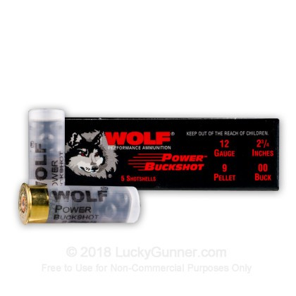 Image 2 of Wolf 12 Gauge Ammo