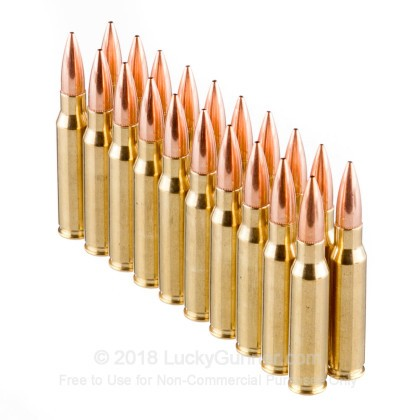 Image 4 of Nosler Ammunition .308 (7.62X51) Ammo