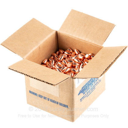 Large image of Bulk 9mm Bullets For Sale - 115 Grain RN DS Ammunition in Stock by Berry's - 1000 Count