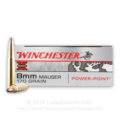 Image 1 of Winchester 8mm Mauser (8x57mm JS) Ammo