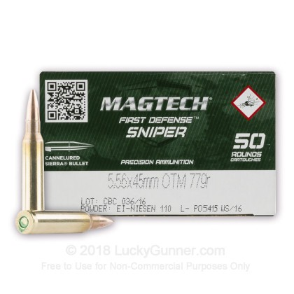 Image 1 of Magtech 5.56x45mm Ammo