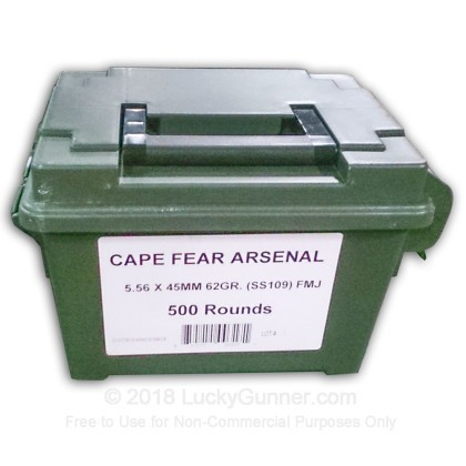 Image 1 of Cape Fear 5.56x45mm Ammo
