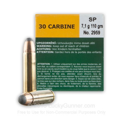 Image 2 of Sellier & Bellot 30 Carbine Ammo