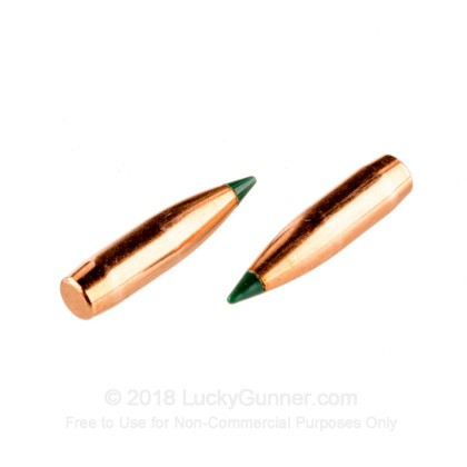 Large image of Bulk 223 Rem (.224) Bullets for Sale - 69 Grain Polymer Tip Bullets in Stock by Sierra - 500
