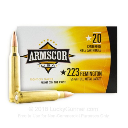 Image 1 of Armscor .223 Remington Ammo