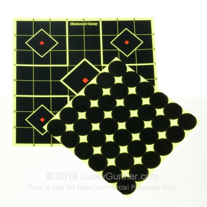 """Large image of Shoot NC Targets For Sale - Shoot NC 34105  8"""" Sight-In Targets - Birchwood Casey Targets For Sale"""