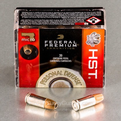 Image 1 of Federal 9mm Luger (9x19) Ammo