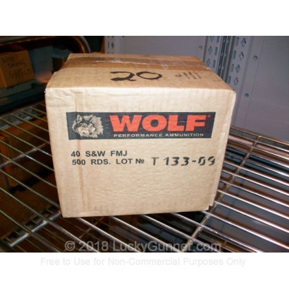 Image 3 of Wolf .40 S&W (Smith & Wesson) Ammo