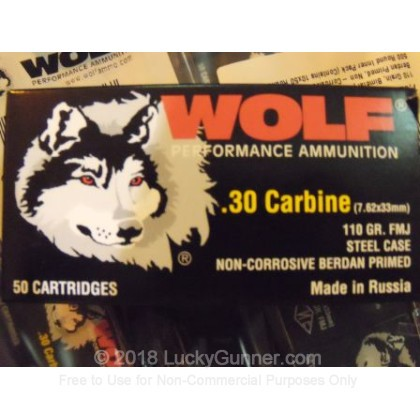 Image 4 of Wolf 30 Carbine Ammo