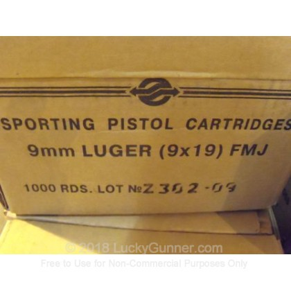 Image 6 of Tula Cartridge Works 9mm Luger (9x19) Ammo