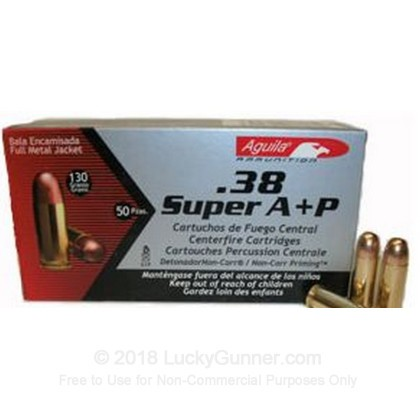 Image 2 of Aguila .38 Super Ammo