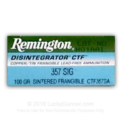 Image 1 of Remington .357 Sig Ammo