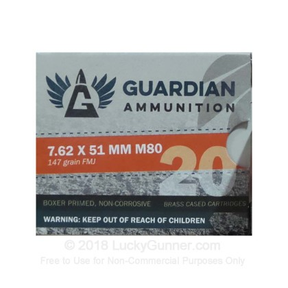 Image 1 of ZQI Ammunition .308 (7.62X51) Ammo