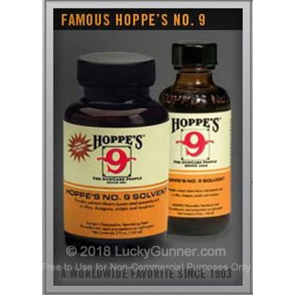 Large image of Gun Solvent - Nitro Solvent - 5 oz - Hoppes For Sale