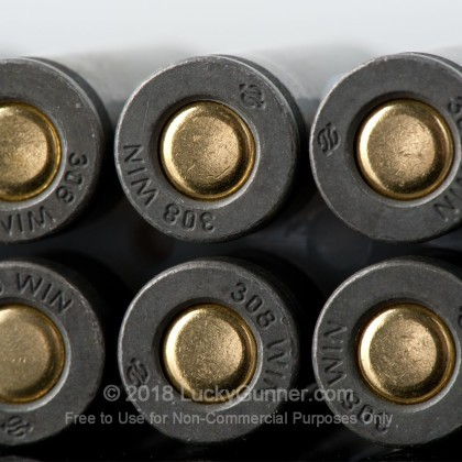 Image 4 of Tula Cartridge Works .308 (7.62X51) Ammo