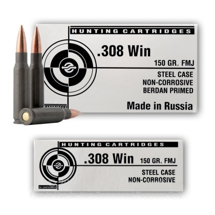 Image 7 of Tula Cartridge Works .308 (7.62X51) Ammo
